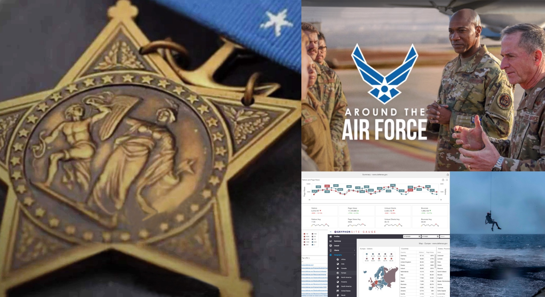 air force unit activities and medallion